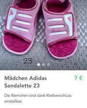 Mädchen Adidas Sandalette 23