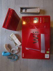 Nintendo Wii rot 25th Anniversary