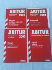 4 Bücher für Abiturvorbereitung