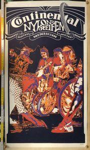 Altes Reklame Plakat Continental Fahrrad