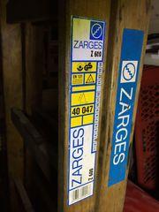 Holzleiter 2 x 7 Stufen