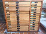 Setzkastenregal für Sammler Münzen Knöpfe