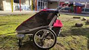 THULE Chariot Cougar 2-Sitzer rot