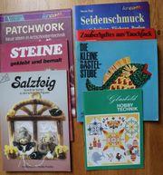 Bastel-Bücher Patchwork - Steine - Salzteig - Seidenschmuck