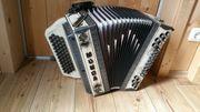 Steirische Harmonika Munda Oberkrain Airbrush