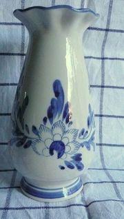 Delfter Keramikvase liebevoll handbemalt jetzt