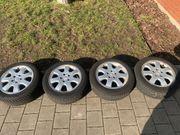 Mercedes Felgen mit Winterreifen 16