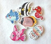 Süße Meeresewohner - Knöpfe