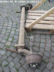 Alko Achse B1000-3 1000kg gebraucht