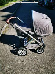 Kinderwagen Moon Lusso stone melange