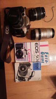 Canon EOS 50E mit Zubehör