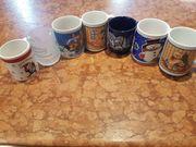 7 Weihnachtstassen Tassen Weihnachten