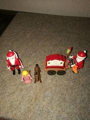 Playmobil Weihnachtsmänner mit Engel