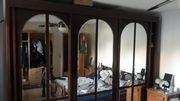 Mahagoni Schlafzimmer Schrank 3m Breit