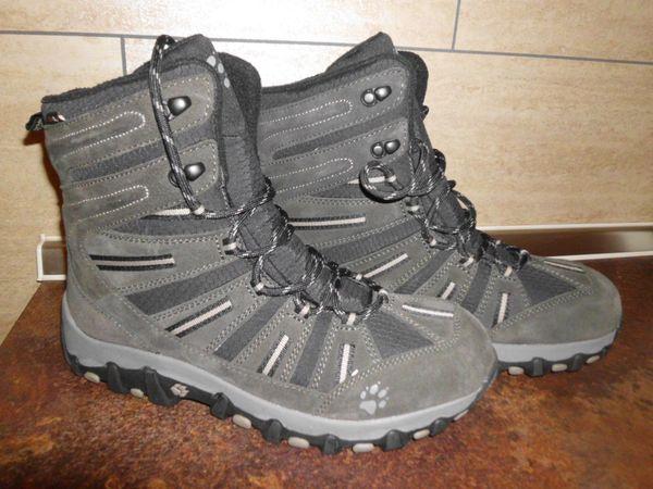 on sale 33fe5 3bcba Jack Wolfskin Herren Snow Trecker Schuhe Gr. 42, grau, N E U ...