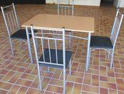 Esstischgruppe 1 Esstisch 4 Stühle