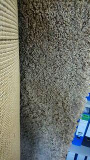 Teppich beige - Shaggy Premium 175cm
