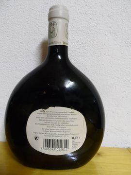 Boxbeutel Wein Flasche - 1992 Stammheim er: Kleinanzeigen aus Steuerwaldsmühle - Rubrik Essen und Trinken