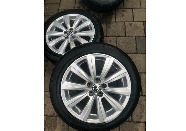 VW Alufelgen Reifen 215 45