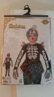 Skelett Kostüm neu in OV