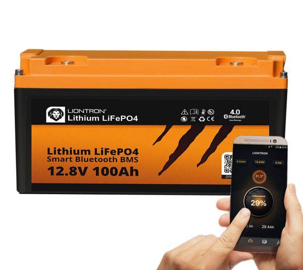 100AH Lifepo Bluetooth und 200W