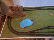 Spur N Modelleisenbahnbrett