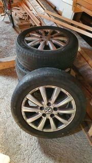 215 55 R16 VW Alufelgen