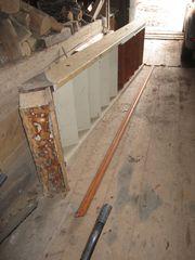 Ausgebaute Holztreppe Treppe