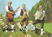 Autogramm Original Grenzland-Trio Österreich