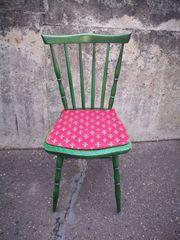 Wirtshausstuhl Bauernstuhl Stuhl Vintage