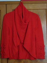 Pullover rot 100 Alpaka Größe