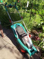 Akku Rasenmäher von Bosch für