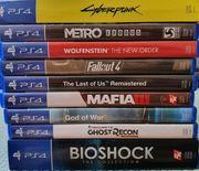 PS4 - Diverse Spiele