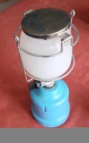 Campinglampe mit Gaskartusche