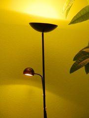 Stehlampe Standleuchte mit Leselampe von