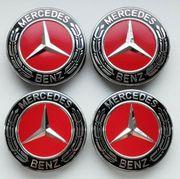 4x Mercedes Nabendeckel Felgendeckel Nabenkappen