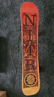 Nitro Magnum wide Snowboard Camber