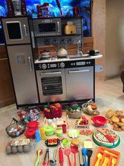 Spielküche Kinderküche viel Zubehöt