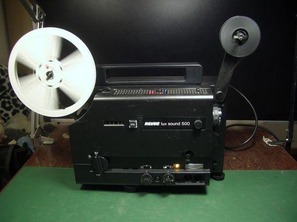 Revuelux Sound 500 Super 8