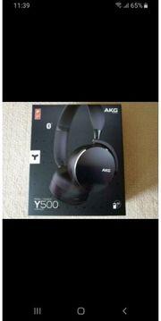 AKG Y500 Bluetooth Kopfhörer schwarz