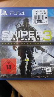 PS4 Spiel Sniper3 Ghost Warrior