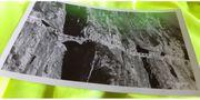 Alte Postkarte Flexenpass