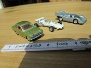 Schuco - 3 kleine alte Spielzeugautos