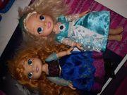 Anna und Elsa Eiskönigin Puppen