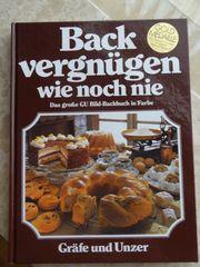 GU Kochbuch Backvergnügen wie noch