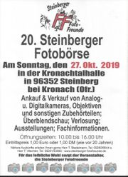 20 Steinberger Fotobörse am 27