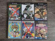 vier GameCube spiele