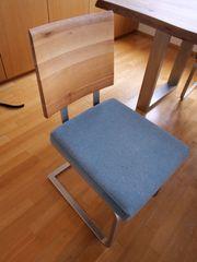 4 Stühle Schösswender Freischwinger