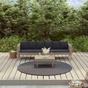 2er Gartenlounge Set in Beige