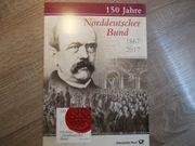 Gedenkset 150 Jahre Norddeutscher Bund